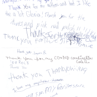 Group thank you letter