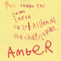 Thank you from Amber