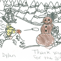 Thank you from Dylan